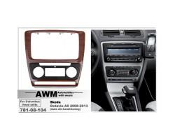 Переходная рамка для автомобиля Skoda Octavia A5 AWM 781-08-104