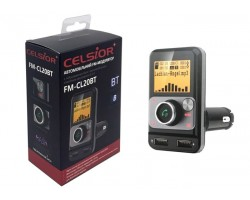 FM-трансмиттер (модулятор) Celsior FM-CL20BT
