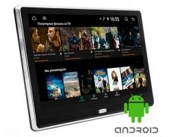 Накладной монитор на подголовник Tectos HD1116A Android