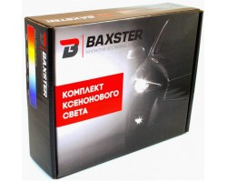 Комплект биксенона Baxster H4 H/L 6000K 35W
