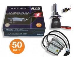 Комплект биксенона Infolight H4 H/L 6000K 50W