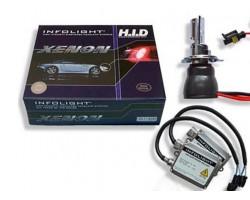 Комплект биксенона Infolight H4 H/L 6000K 35W
