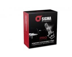 Биксеноновая лампа Sigma PRO H4 H/L 6000K