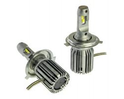 LED лампа Cyclone LED H4 H/L 5700K 6000LM TYPE 31