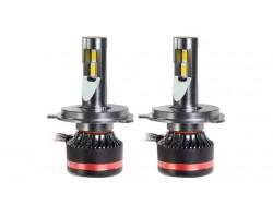 LED лампы MLux RED Line H4/9003/HB2 BI 45 Вт 4300К (2 шт)