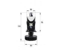 "LED Линзы биксеноновые Infolight mini H4 1.3"""