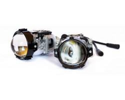 LED Линзы биксеноновые Blu Ray Bi-Led SOL7