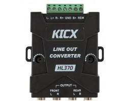 Преобразователь (конвертер) уровня сигнала Kicx HL-370