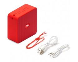 Портативная акустика Nakamichi Cubebox red