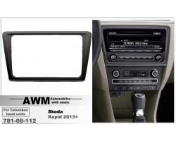Переходная рамка для автомобиля Skoda Rapid AWM 781-08-112