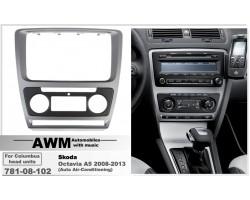 Переходная рамка для автомобиля Skoda Octavia A5 AWM 781-08-102