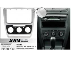 Переходная рамка для автомобиля Skoda Octavia A5 AWM 781-08-107