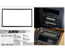 Переходная рамка Volkswagen, Skoda, Seat, Mercedes, Volvo AWM 781-35-036