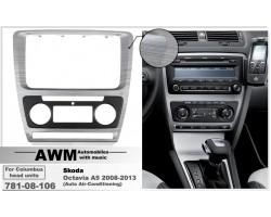 Переходная рамка для автомобиля Skoda Octavia A5 AWM 781-08-106