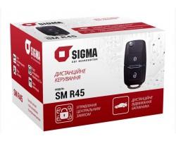 Дистанционное управление центральным замком SIGMA SM R45