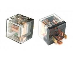 Реле 5-контактное JD1914 12V 40A прозрачное с диодом