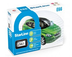 Автосигнализация StarLine E66 BT 2CAN+2LIN ECO