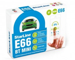 Автосигнализация StarLine E66 BT 2CAN+2LIN MINI