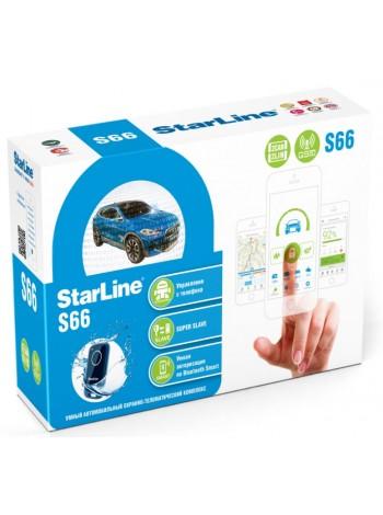 GSM-сигнализация  StarLine S66 V2 BT 2CAN+4LIN GSM