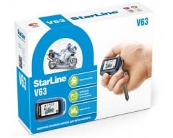 Мотосигнализация StarLine V63