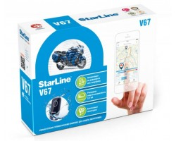 Мотоиммобилайзер StarLine Moto V67 (v66+M17)