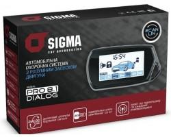 Автосигнализация Sigma PRO 8.1 CAN DIALOG