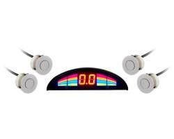 Парковочный радар GT P Rainbow 4 silver