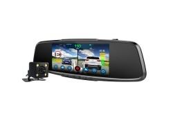 Зеркало с видеорегистратором и радар-детектором Playme VEGA Touch