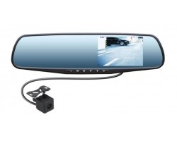Зеркало с видеорегистратором Swat VDR-4U